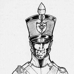 Вольтижер 7-го линейного полка, 1812 г.