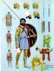 Гоплит пелопонесской войны