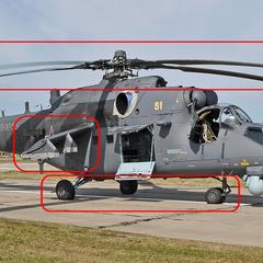 Визуальные отличия вертолёта Ми-35М от <a href=