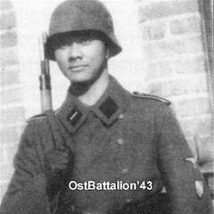 Индонезийский доброволец из состава 23-й дивизии Недерланд.