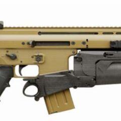 SCAR-L с 40-мм гранатомётом FN ELGM.
