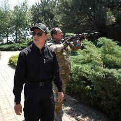 Батальон Украина на даче сына Януковича.