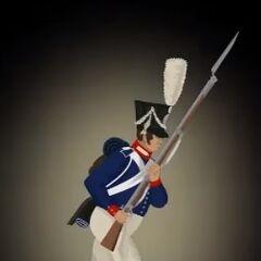 Фузилер 11-го пехотного батальона.