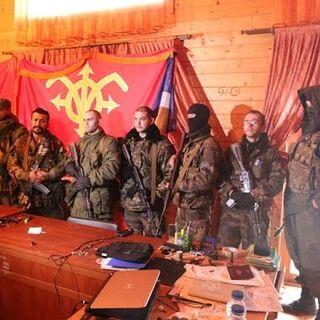 Бойцы батальона Unité Continentale.