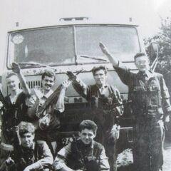 Бойцы УНСО в Приднестровье, 1992 г.