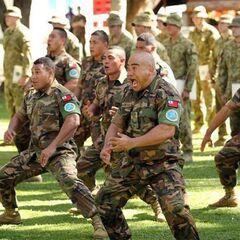 Тонганские солдаты в составе RAMSI.