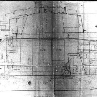 Сравнительные размеры танков 7TP и 9ТР.