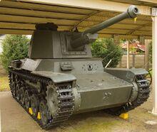 Japanese Type 3 Chi-Nu tank 1