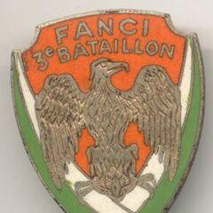 Эмблема 3-го батальона пехоты.