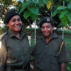 Девушки-офицеры CSSI.