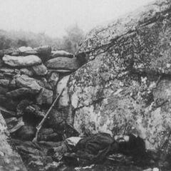 Известная фотография мертвого конфедерата в