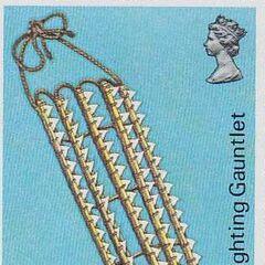 Марка островов Гилберта (Кирибати) с изображением тебаны.