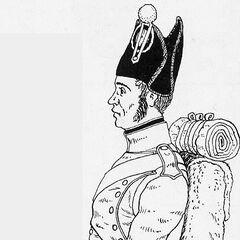 Фузилер 3-го линейного полка, 1809 г.