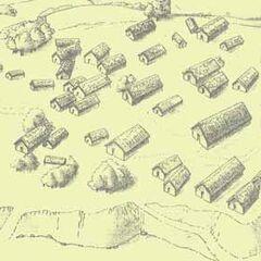 Укрепленное двумя рвами со стороны поля поселение Хебешешть.