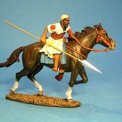 Конный махдист из племени баггара.