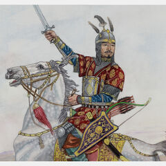 Казахский хан Хакназар.