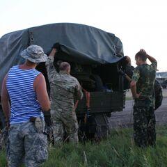 Бойцы из 11-го батальона встречают
