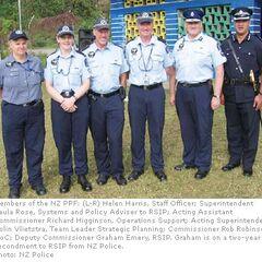 Новозеландские полицейские силы в составе RAMSI.