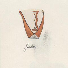 Слева-направо: помпон фузилера, фалда фузилера и фалда музыканта, 1811 - 1812 гг.