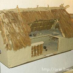 Модель трипольского дома.