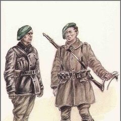 Арденнские егеря, 1940 год.