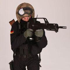 GSG-9 в телевизионном шоу Deadliest Warrior.