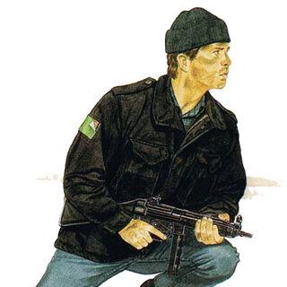 Оперативник Delta Force, иранская пустыня, база 1, операция Орлиный коготь, 1980 год.