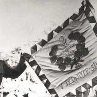 Знамя бригады.