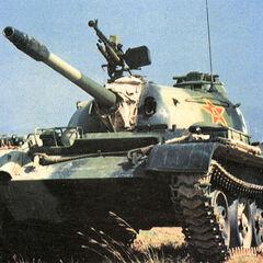 Type 62 НОАК.