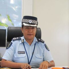 Комиссар RSIPF Хуанита Матанга.