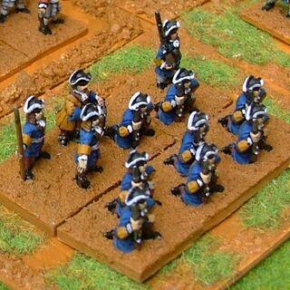 Военная миниатюра.