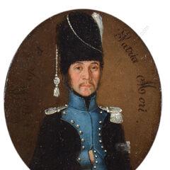 Портрет капитана легиона Мирабо, между 1791 и 1793 гг.