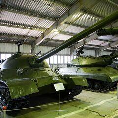 ИС-7 в Бронетанковом музее в г. Кубинка.