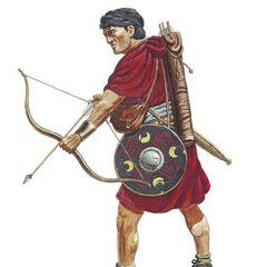 Критский лучник из числа римских вспомогательных частей, 9 год н. э.