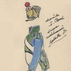 Артиллерист 5-го линейного полка, 1813 г.