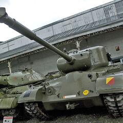 M46A1 в Музее Армии в Брюсселе.