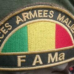 Нашивка принадлежности к ВС Мали.