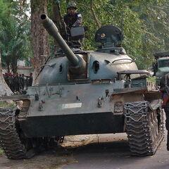 Type 62 в Конго.