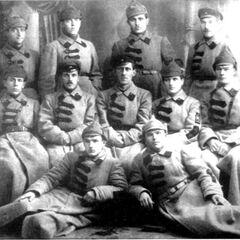 Красноармейцы в Гражданской войне.