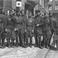Красная армия в Праге.