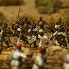 Баггара в бою (во время Махдистского восстания).