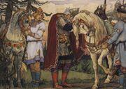 Russian konung Oleg by Vasnetsov 1
