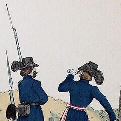 Легионер и офицер Академического легиона.