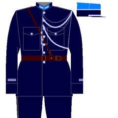 Офицер люксембургской жандармерии, 1934 год.