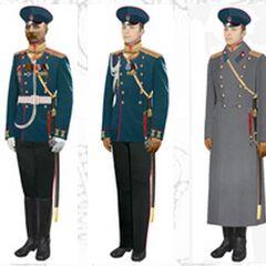 Офицеры в обыкновенной форме, 1907 - 1914 гг.