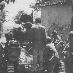 Ремонт двигателя танка