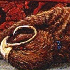 Мертвый воин-орел (видна застежка на спине у <a href=