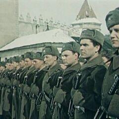 Чехословацкие солдаты.
