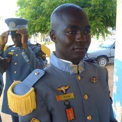 Курсант Национального военного училища по подготовке унтер-офицеров действующего состава.