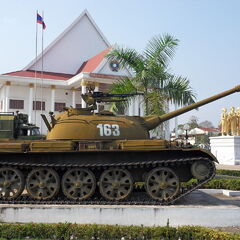 Type 62 в Лаосе.